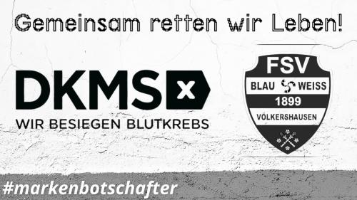 Blau-Weiss startet DKMS-Aktion ab 03.07.
