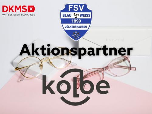 Kolbe Optik unterstützt unsere DKMS-Aktion