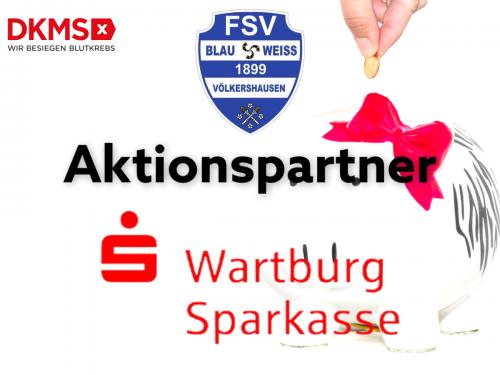 Wartburg-Sparkasse unterstützt DKMS-Kampagne