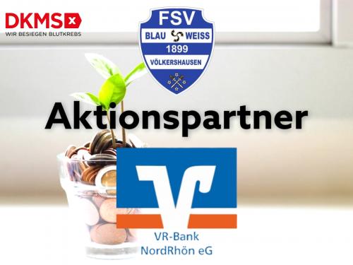 VR-Bank NordRhön kämpft gegen Blutkrebs!